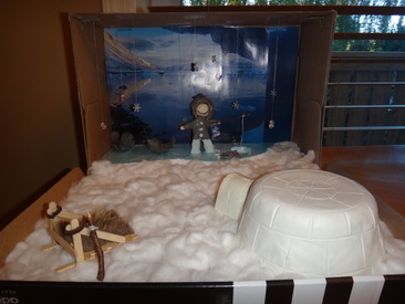 First Nations Diorama Katelyn Leonardss9ep
